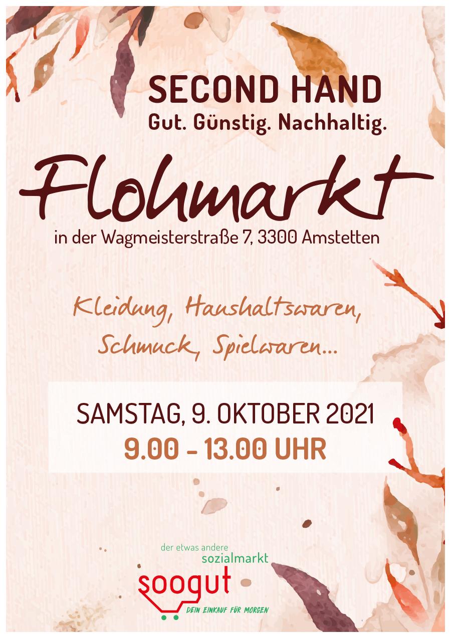 Flohmarkt im soogut-Sozialmarkt Amstetten