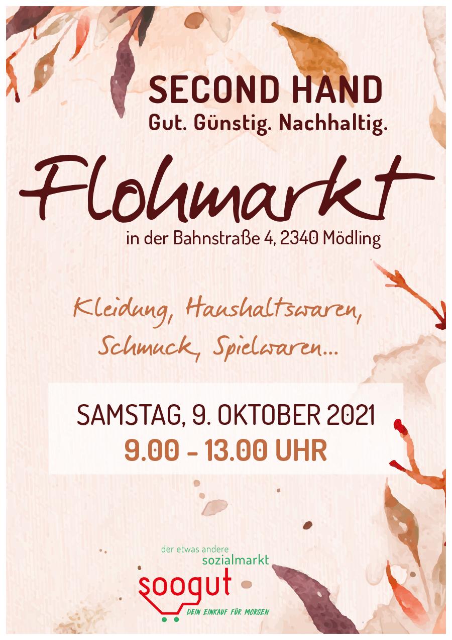 Flohmarkt im soogut-Sozialmarkt Mödling