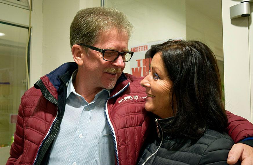 Inge Höblinger mit Freund