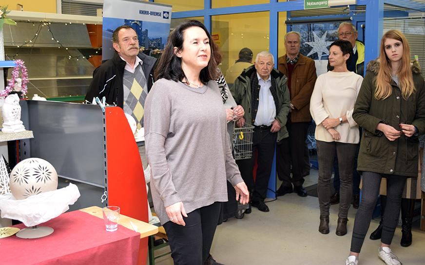 Eröffnungsrede Christina Ebersberger-Dörfler von Knorr-Bremse