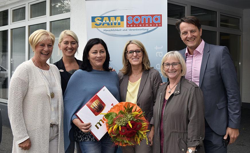Geburtstagsgratulanten der Stadt Amstetten