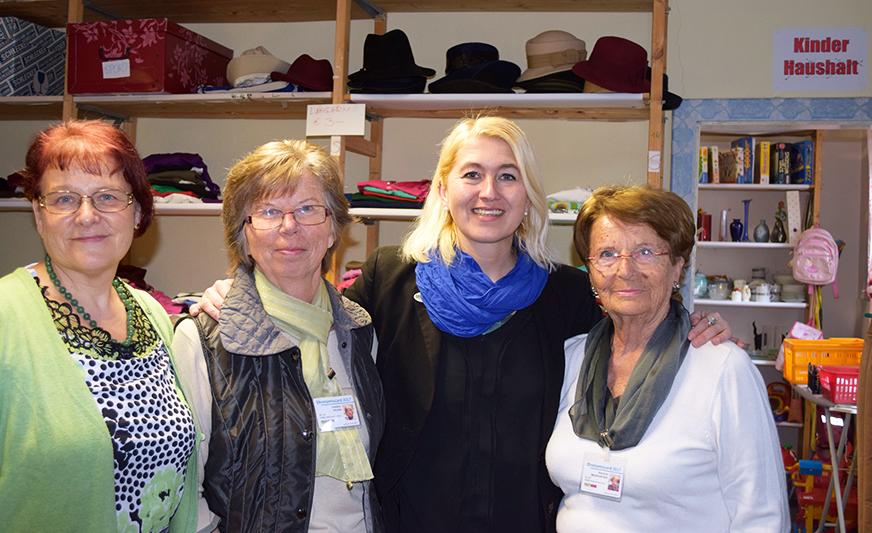 v.l.n.r.: Regina Bleiner, Christine Spusta, Marianne Baumgartner