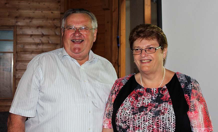 Ernst und Traudi Hausberger