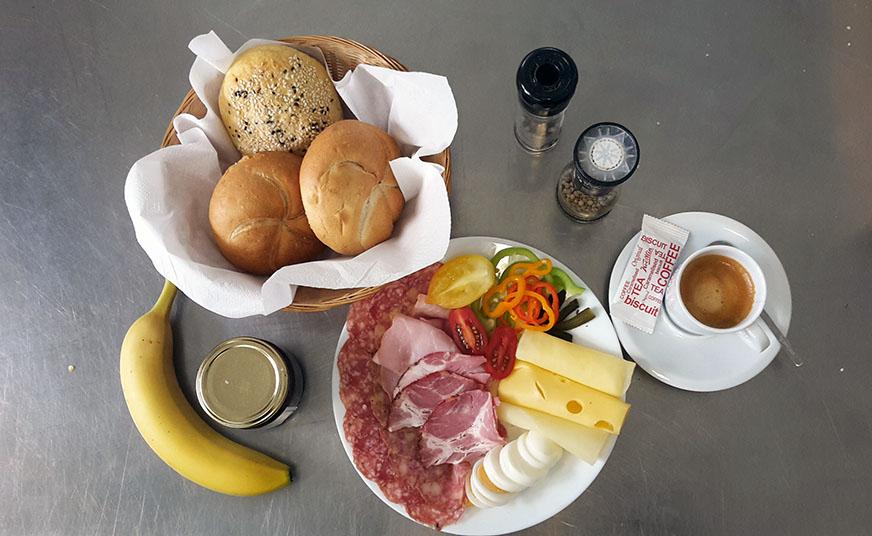 Frühstück im SOMA St Pölten