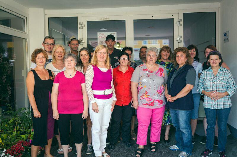 Teamfoto der TeilnehmerInnen (Fotocredit: Kaltenberger)