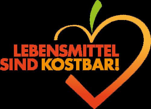 Logo: Lebensmittel sind kostbar