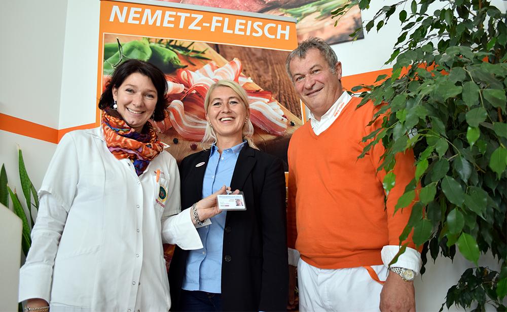 Monika Nemetz, Anneliese Dörr und Johann Nemetz