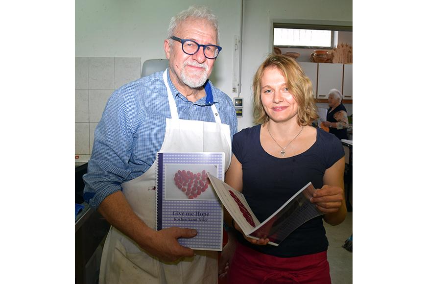 Reinhard Sandhofer mit Patricia Ungerhofer