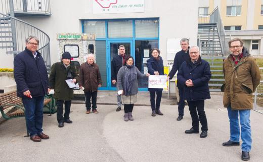 Überparteiliche Unterstützung in Mödling - 3 Monatsmieten werden finanziert