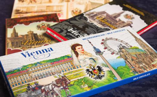 köstliche Schokolade von souvenir world für die soogut-Sozialmärkte