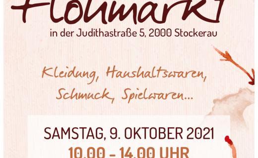 Flohmarkt im soogut-Sozialmarkt Stockerau am Samstag 9.Oktober 2021
