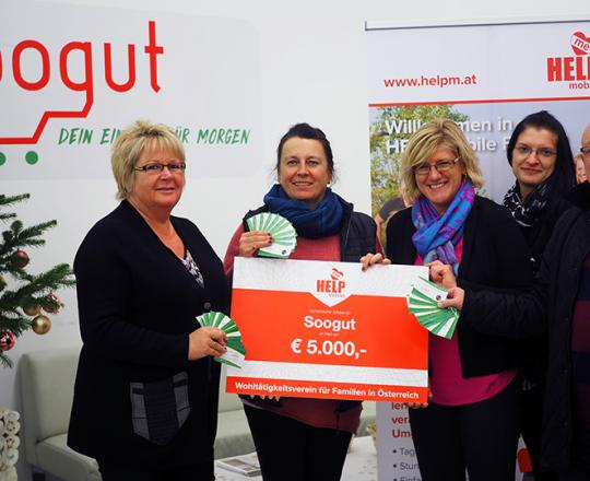 v.l.n.r.: Karin Stemberger, Hannelore Kurz, Andrea Pichler, Sabine Caixeta-Neto, Ingomar Golob