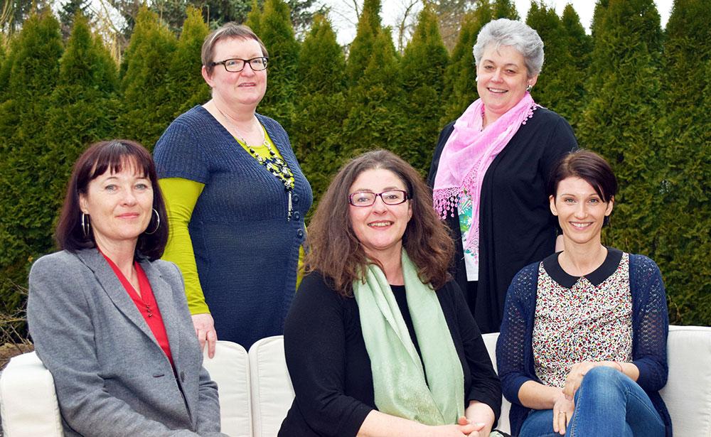 Das Team des SOMA Ternitz: Sigrid Haiden, Melitta Flechl, Manuela Pusker, Barbara Sandhofer und Julia Maxa