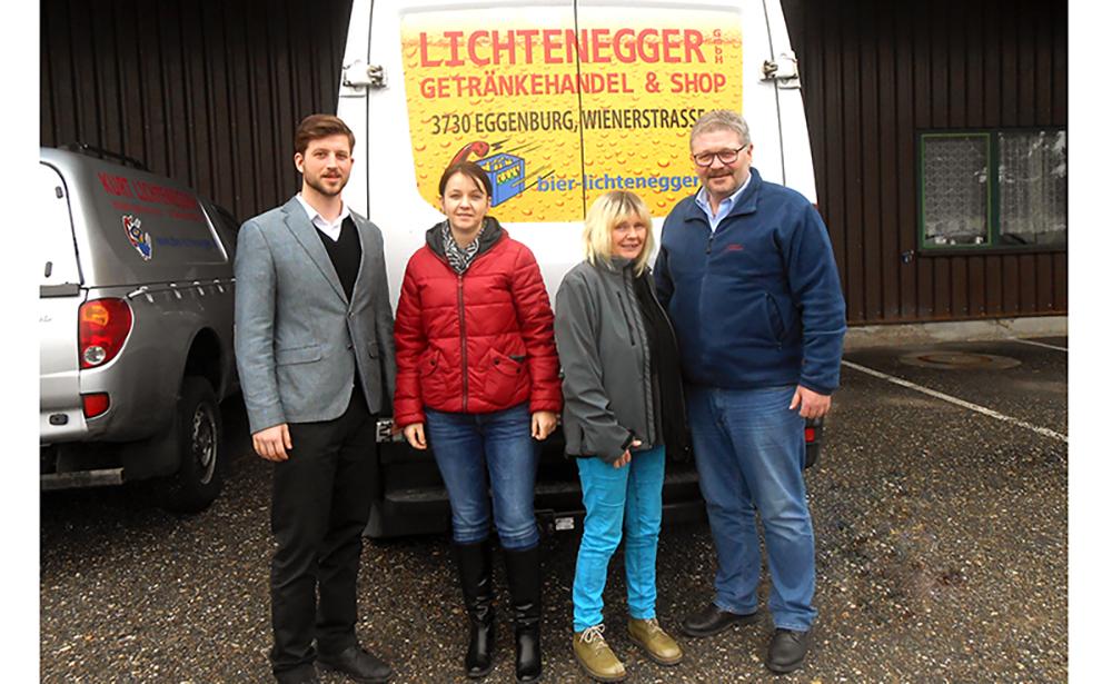 Getränkehandel Lichtenegger unterstützt den SOMA Waldviertel mobil mit Getränken
