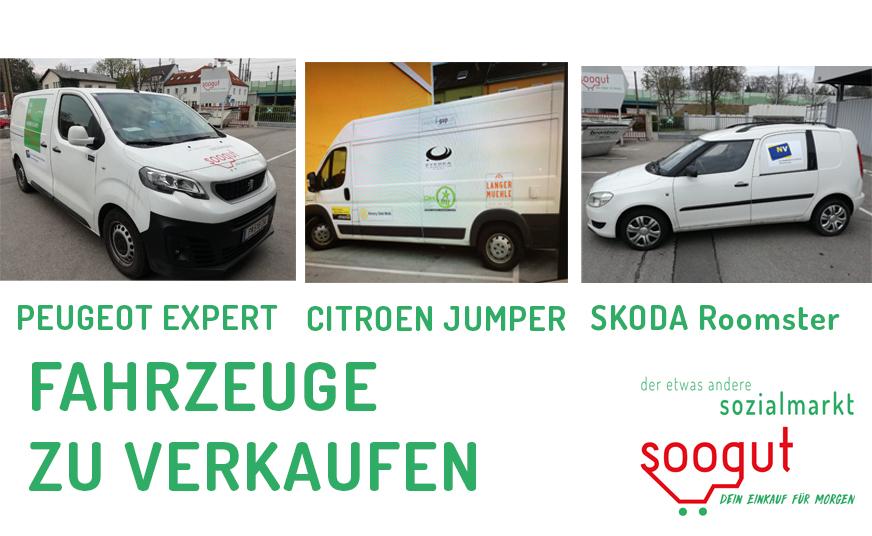 Fahrzeuge zu verkaufen